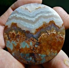 Prudent Man Plume Agate Cabochon 109cts | eBay
