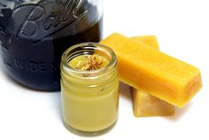 DIY Natural Healing Herbal Balm Recipe made from Harvested Botanicals, Raw Local Beeswax and Olive Oil