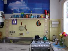 Kitchens On Pinterest Retro Kitchens Colorful Kitchens And Vintage