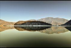 Mirroring  Olt river view, 30 12