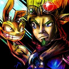 Jak and Daxter by ~VVernacatola on deviantART