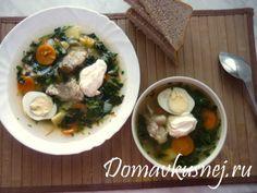 Пошаговый рецепт приготовления Щей из крапивы и сныти