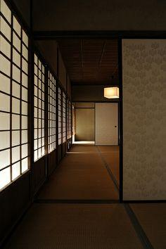 Japanese room, Washitsu 和室 I want a house like this. Japanese Style House, Traditional Japanese House, Japanese Modern, Japanese Design, Japanese Mansion, Japanese Culture, Japanese Architecture, Architecture Design, Pavilion Architecture