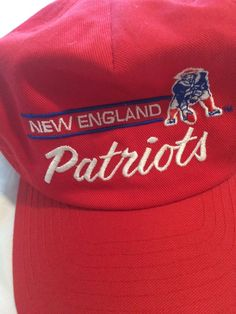 Vintage New England Annco Snapback Script  fashion  clothing  shoes   accessories  mensaccessories 7472939242ea