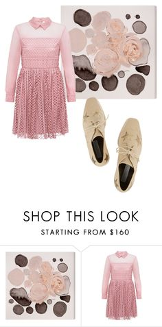 """""""Sans titre #1643"""" by kit92 ❤ liked on Polyvore featuring Oliver Gal Artist Co., Bora Aksu and STELLA McCARTNEY"""