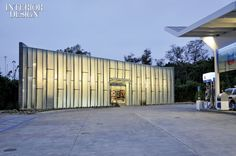 Solar Power at the Pump: Kevin Oreck Designs a Green Gas Station | Projects | Interior Design