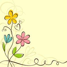 Layouts e templates para blogs e lojas virtuais Page Borders Design, Border Design, Borders For Paper, Borders And Frames, Cute Wallpapers, Wallpaper Backgrounds, Flower Doodles, Bible Art, Paper Cards