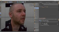 C4D silent tip 4: Camera mapping a head using camera mapping and sculpt tools (NO AUDIO) on Vimeo