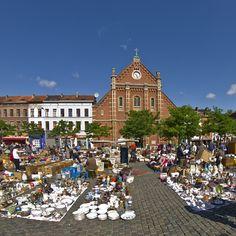 Place du Jeu de Balle. Fotografía de www.belgica-turismo.es