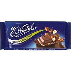 If there is something that makes milk chocolate even tastier, it is a hazelnut filling. Traditional, simple and delicious. Chocolate Brands, Goodies, Milk, Polish, Candy, Chocolates, Packaging, Food, Design