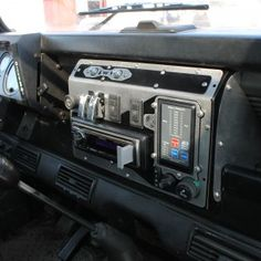 Replacement dashboard console