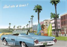 Les illustrations de christophe: Ford Thunderbird