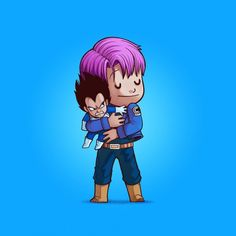 Trunks et Vegeta (Dragon Ball Z)