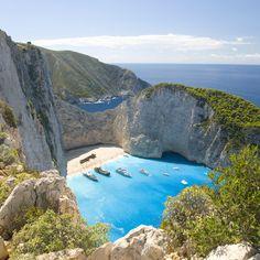 Navagio, Zakynthos Island, Greece: The Best Beaches in Europe