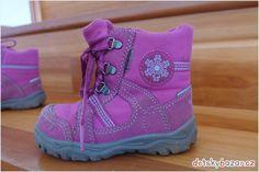 Dětské zimní boty Superfit s Gore-Tex vel. 23 z bazaru