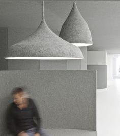 The Design Walker • felt lamps: Pendants Lamps, I29 Interiors, Lamps...