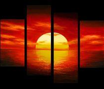 Sunsets Paintings Oil Painting on Canvas Art Sunset Art
