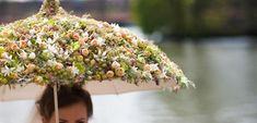 Floral Umbrella by Zita Elze