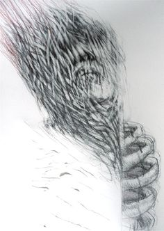 "Artist Judith Mason ""Prometheus"" 2008 Pencil on Paper, 81 X South African Artists, Drawing Techniques, Dark Art, Pencil Drawings, Art Projects, Illustration Art, Artsy, Magic, Ink"