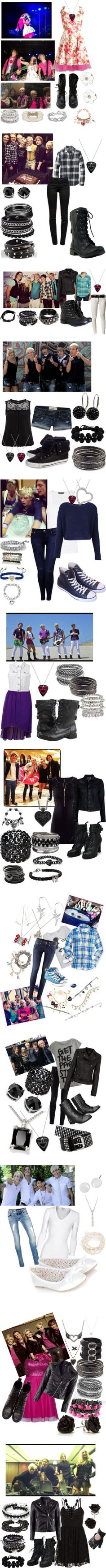 """""""If I Were in R5 and Rydel related Sets"""" by geena-arianna-volturi ❤ liked on Polyvore"""