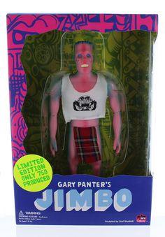 Gary Panter's Jimbo 9.5inch Vinyl Figure