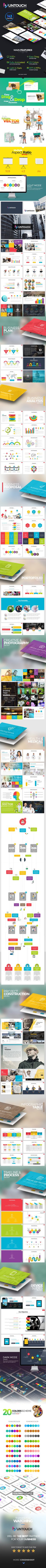 Untouch Presentation Template  - Powerpoint • Only available here ➝ http://graphicriver.net/item/untouch-presentation-template/16778212?ref=pxcr
