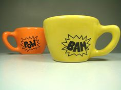 bam pow mugs
