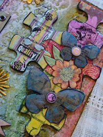 My Art Journal: Making Use of My 'Scrap'book Paper
