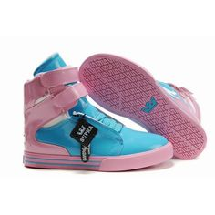 supra tk society navy blue and pink women footwear