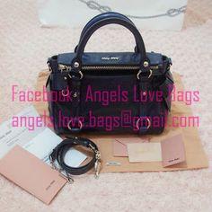 aa2f1d78240f 2013 VIP Christmas Sales Preview ♥-------- ♥ MIU MIU Classic Vitello Lux Small  Bow Bag - Bluette ♥➭ We provide free international shipping ➭ Facebook ...