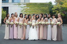Chic Elegant Gold and White Wedding