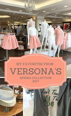 Spring into Versona - My Spring Favorites from the #springintoversona Look Book - The Gifted Gabber
