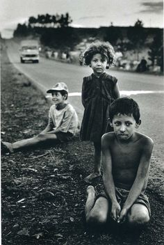 by Sebastião Salgado From Terra: Struggle of the Landless, 1997, about the hard life of Brazilian peasants.