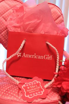 {FEATURED PARTY} American Girl Birthday Party ~ Kroma Design Studio | Today's Party Ideas