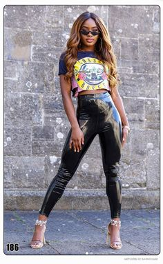Leather Pants Outfit, Sugar Baby, Tights, Punk, Sexy, Womens Fashion, Glove, Outfits, Beauty