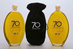 "70"" Evdominda"" Gourmet Extra Virgin Olive Oil - Designed by Merblong Ltd, Greece."