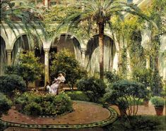 Things of beauty I like to see, Spanish courtyards, patio's and gardens byManuel...