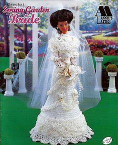 Spring Garden Bride Fashion Doll Crochet Pattern  Annie's Attic 870220