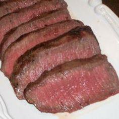 Flat Iron Steak Simplicity! Allrecipes.com