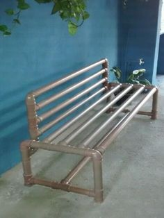 Image result for diy pvc pipe bench