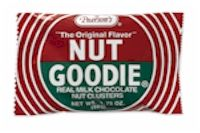Pearson's Nut Goodie Candy Bar. Nut goodie candy bars have been a favorite old time candy bar for over 100 years.  A delicious maple center with peanuts covered with milk chocolate.