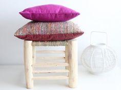 taburete marroquí de madera. moroccan stool. dar amína shop