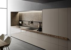 Genius Loci, Modern Kitchen Design, Double Vanity, Kitchen Cabinets, Furniture, Home Decor, Anna, Mosaics, Decoration Home