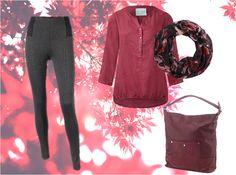 ALARMSTUFE ROT | Mit der Farbe Rot sind Sie diesen Herbst modisch up to date | Outfit jetzt im Online-Shop sichern | Leggings: https://www.adlermode.com/p-0117900001 | Bluse: https://www.adlermode.com/p-0102707135 | Loopschal: https://www.adlermode.com/p-0176116492 | Tasche: https://www.adlermode.com/p-0177188392