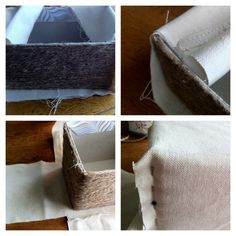 turn Tissue Box into a Jute Box... I made my own craft using old shoe boxes :)