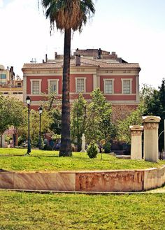 Kostis Palamas building was named after the great Greek poet who served as the university's secretary for 30 years.