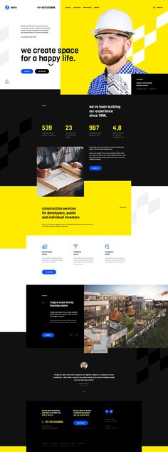 Dribbble - by Mateusz Madura Website Design Inspiration, Web Design Inspiration, Design Ideas, App Design, Layout Design, Simple Website Design, Website Designs, Identity, Communication