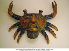 Crab Man Mask