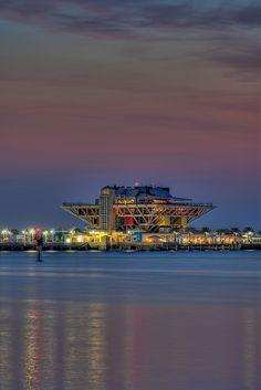 St Petersberg Pier at Dawn