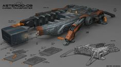 Carrier by martydesign spaceship spacecraft cargo transporter shipping | Create your own roleplaying game material w/ RPG Bard: www.rpgbard.com | Writing inspiration for Dungeons and Dragons DND D&D Pathfinder PFRPG Warhammer 40k Star Wars Shadowrun Call of Cthulhu Lord of the Rings LoTR + d20 fantasy science fiction scifi horror design | Not Trusty Sword art: click artwork for source
